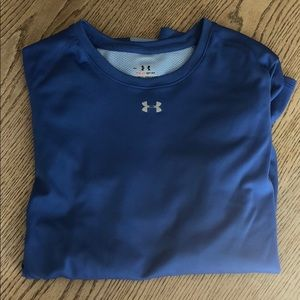 Blue Under Armour Dry Fit